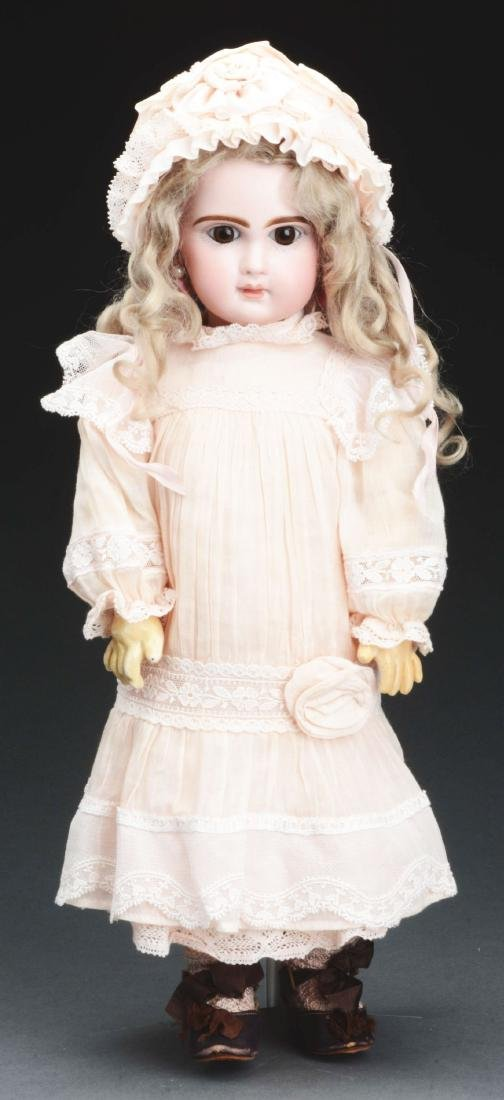 1890's French Bisque Head Walking Doll.