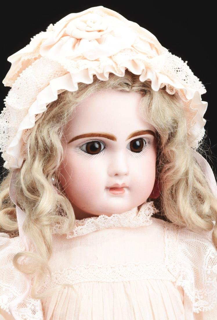 1890's French Bisque Head Walking Doll. - 2