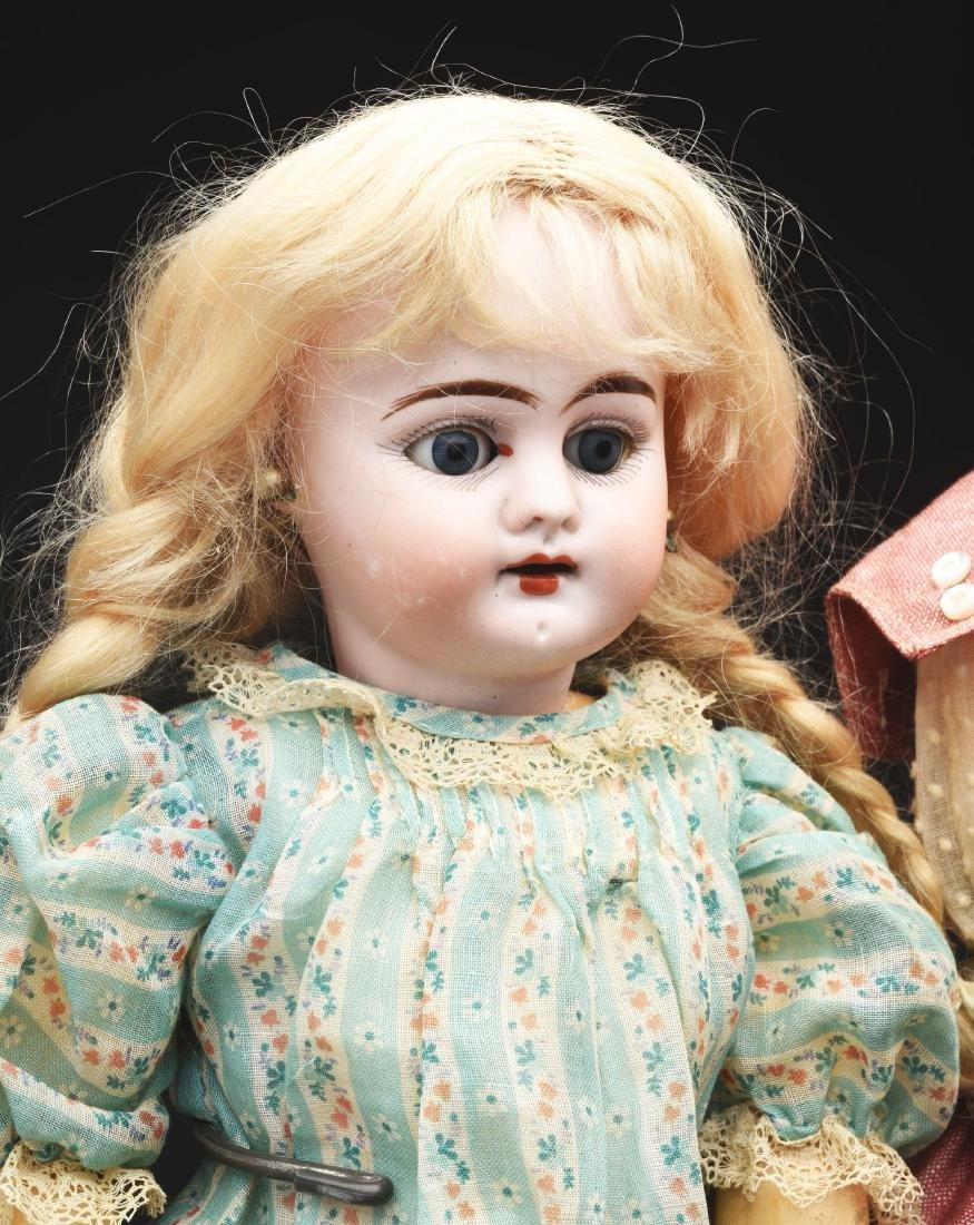 Lot of 3: German Bisque Head Dolls. - 2