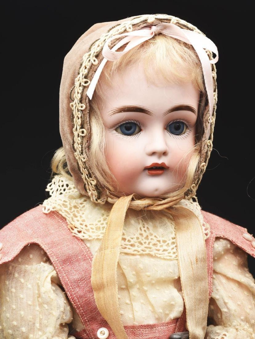 Lot of 3: German Bisque Head Dolls. - 3
