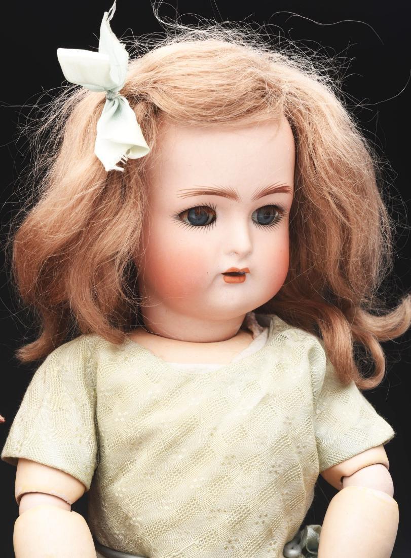 Lot of 3: German Bisque Head Dolls. - 4