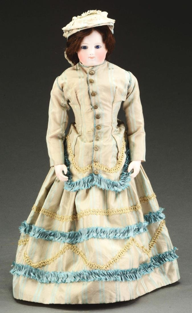 Early Bisque Shoulder Head French Fashion Doll.