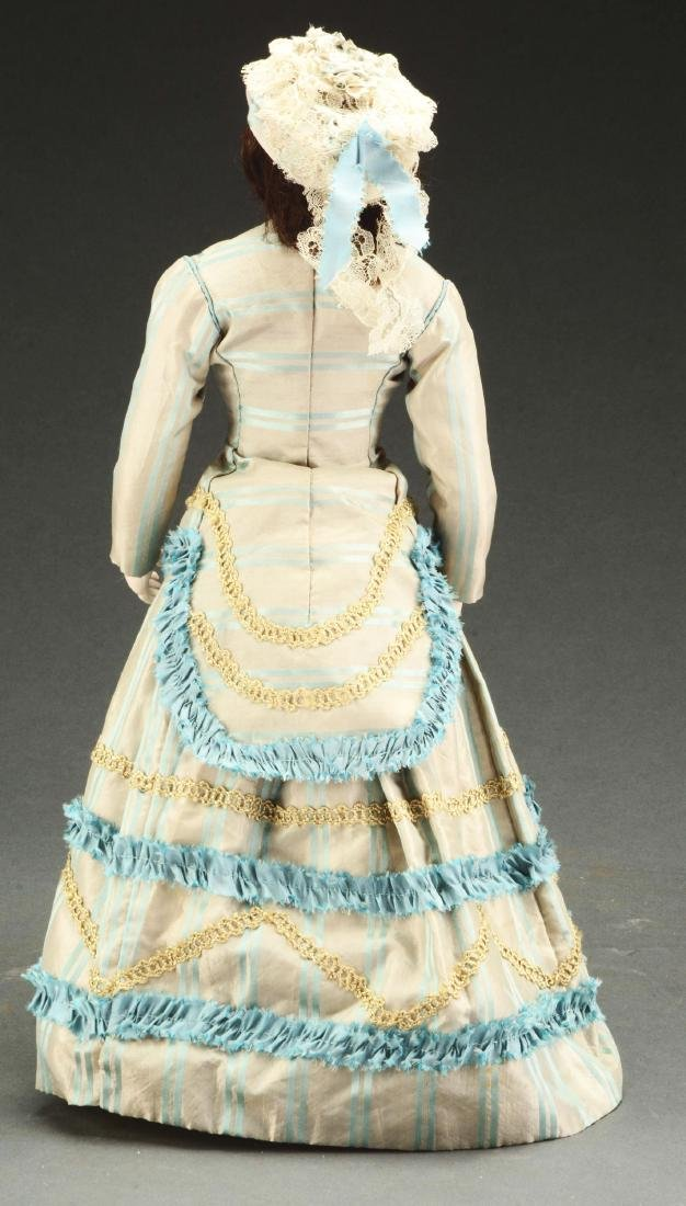 Early Bisque Shoulder Head French Fashion Doll. - 2
