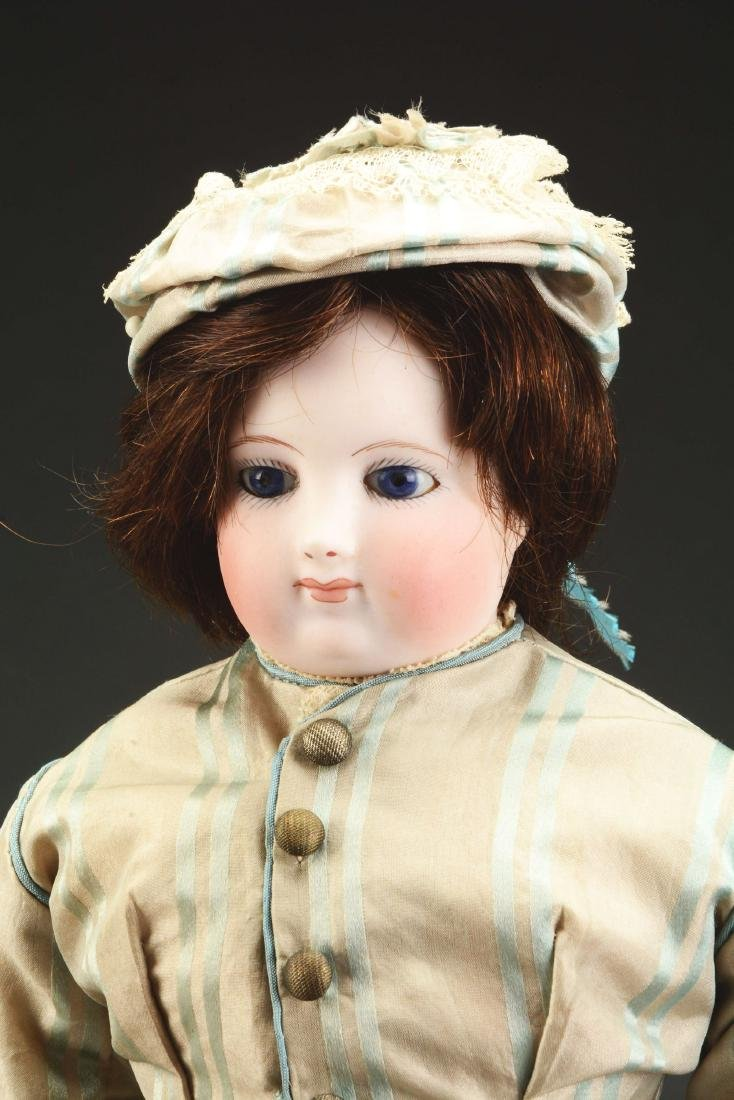 Early Bisque Shoulder Head French Fashion Doll. - 3