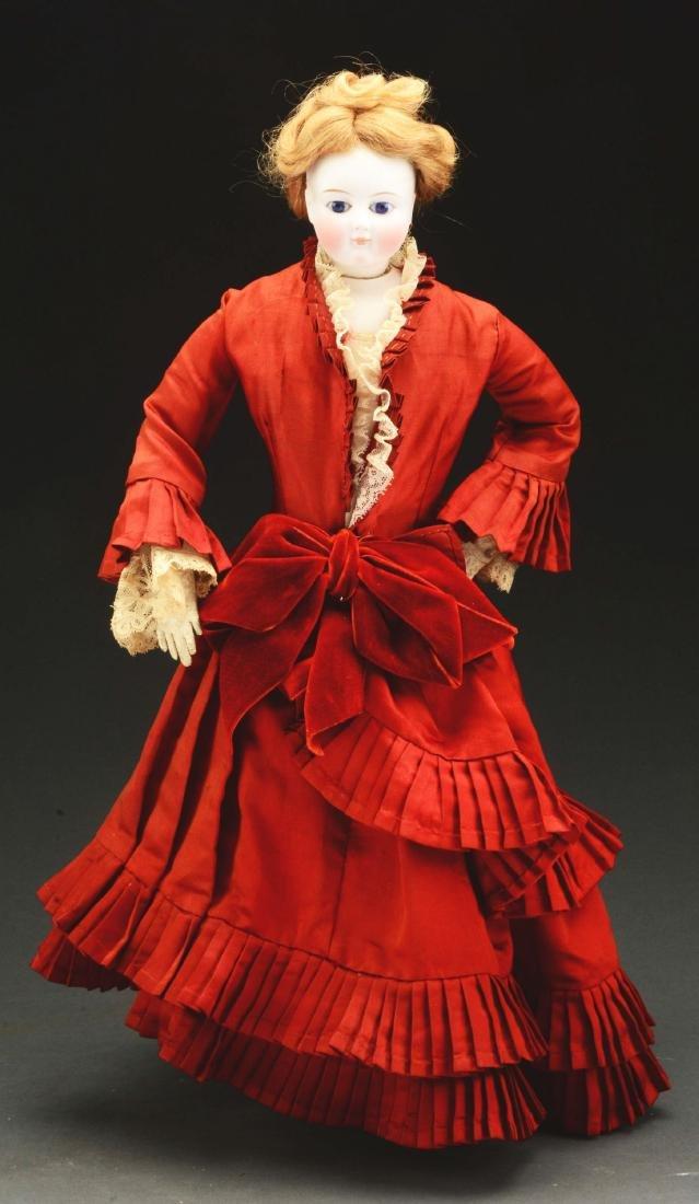 Stunning German Fashion Doll.