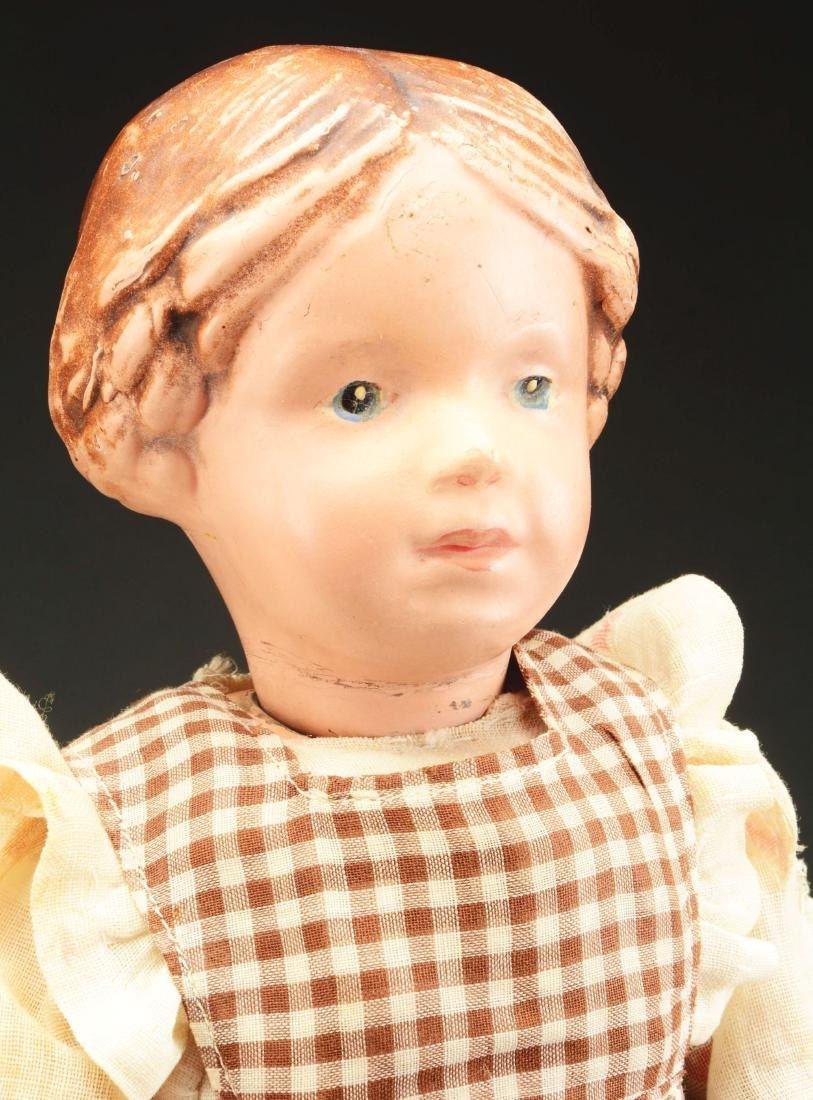 Lot of 2: Wooden Schoenhut Dolls. - 4