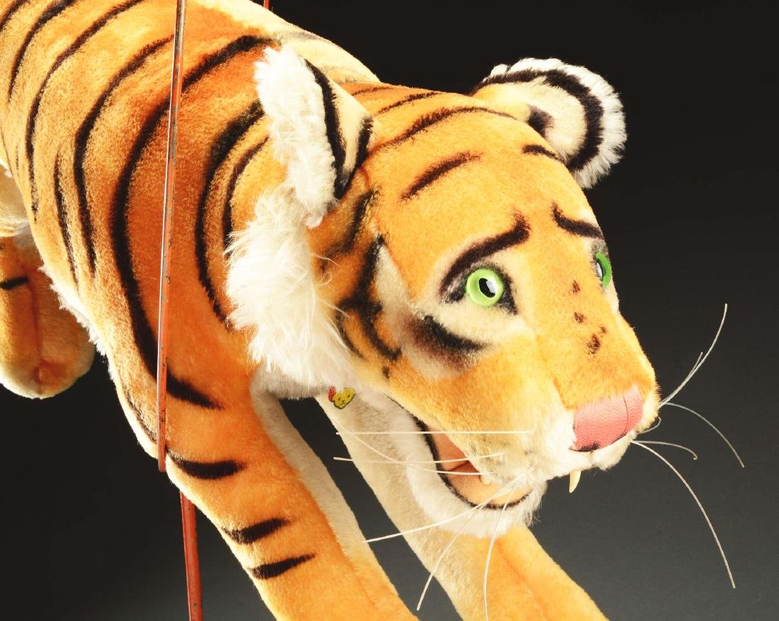 Steiff Studio Studio Tiger Jumping Through Hoop. - 4