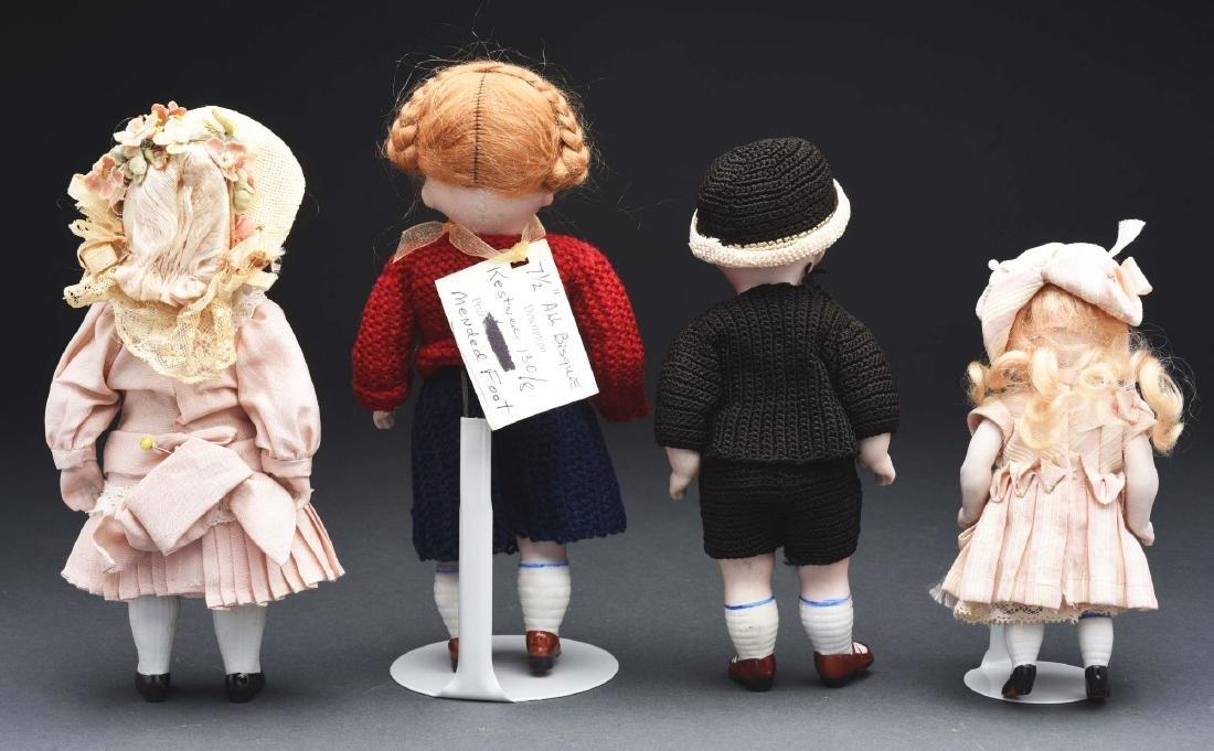 Lot of 4: Kestner All Bisque Dolls. - 2