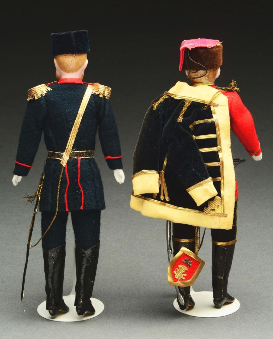 Lot Of 2: Exceptional Dollhouse Soldier Dolls. - 2