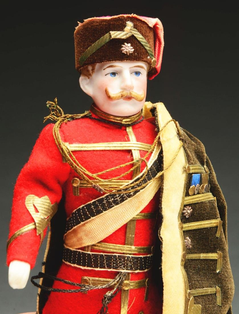 Lot Of 2: Exceptional Dollhouse Soldier Dolls. - 4