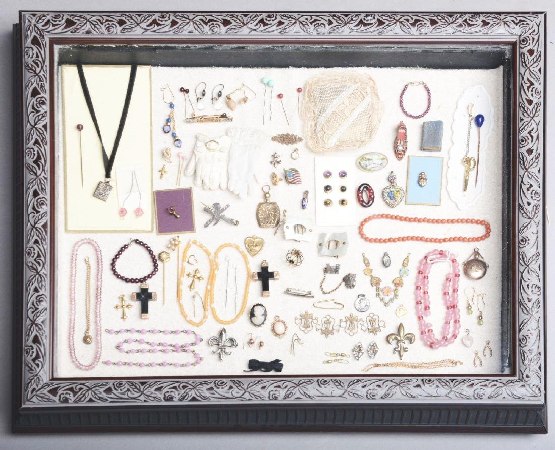 Large Grouping of Doll Jewelry.