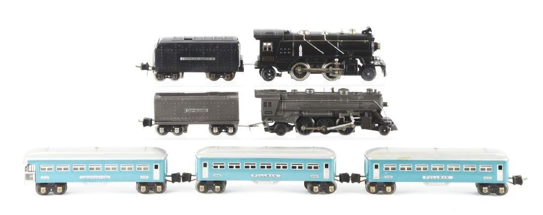 Lot Of 7: Lionel No. 262E Steam Engine, No. 1666E