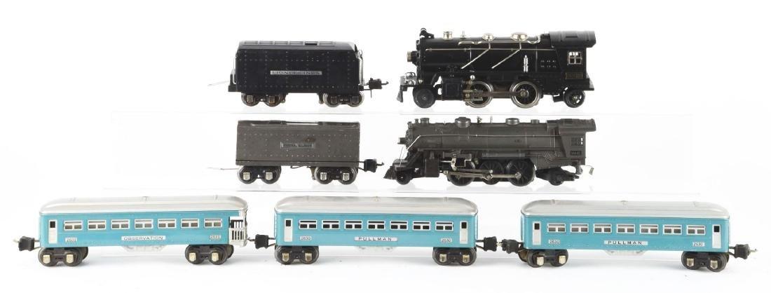 Lot Of 7: Lionel No. 262E Steam Engine, No. 1666E - 2