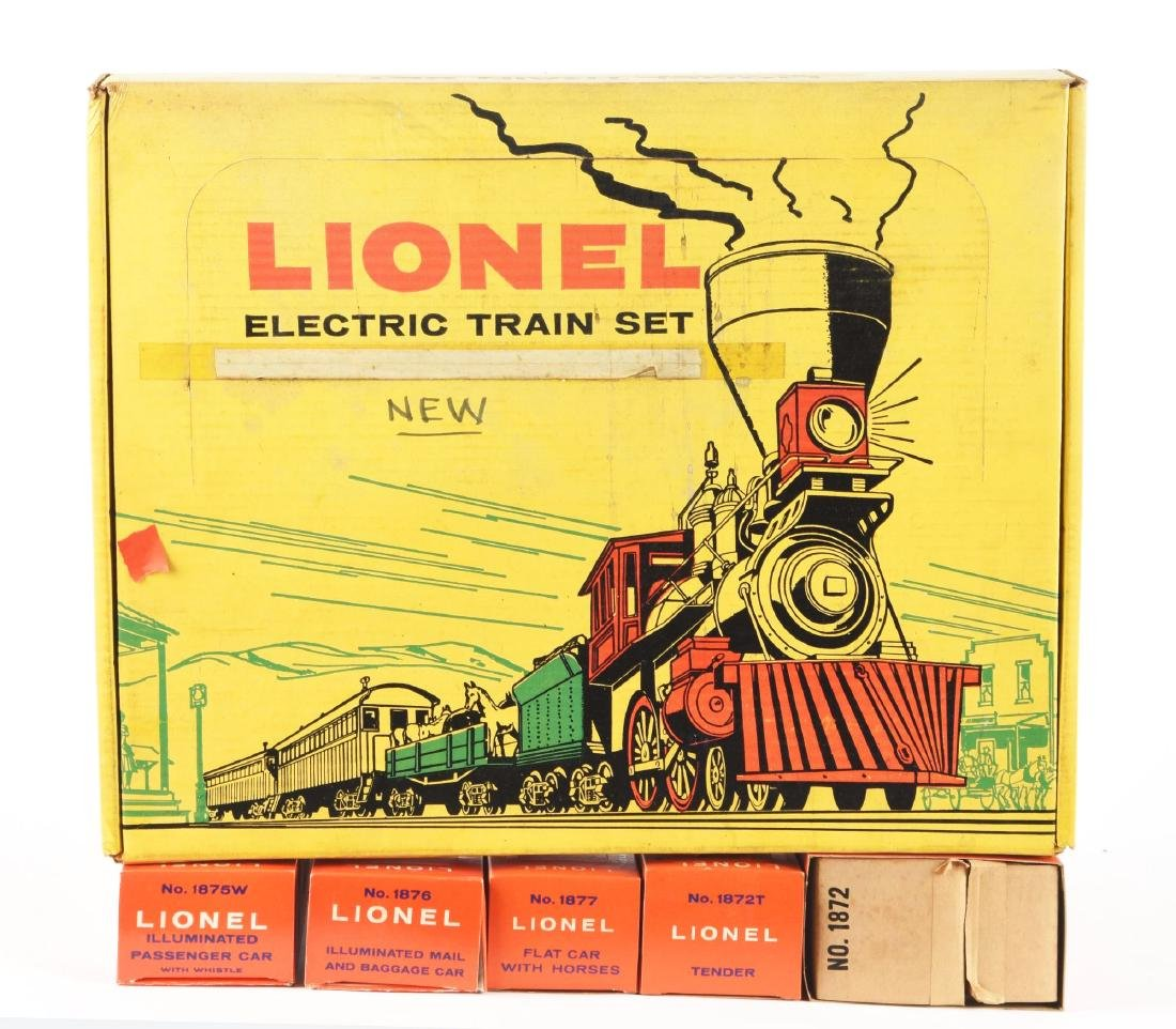Lionel No. 2528WS General Set with Box. - 3