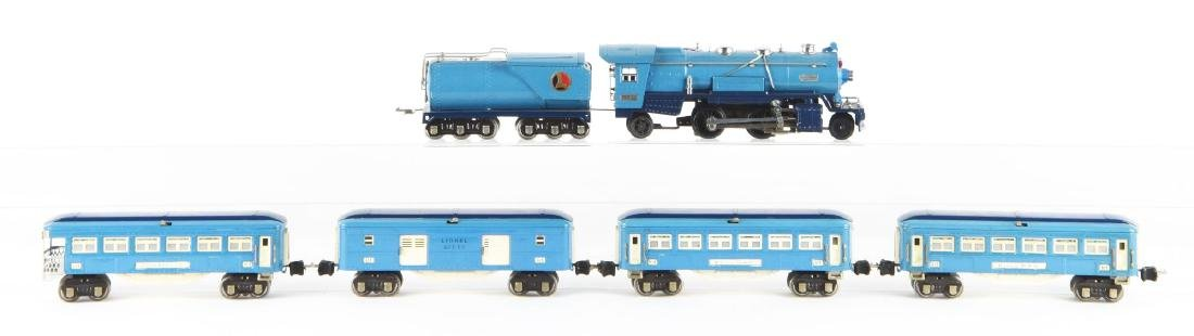 Lot of 6: Lionel Blue Comet Set with Extra Car.