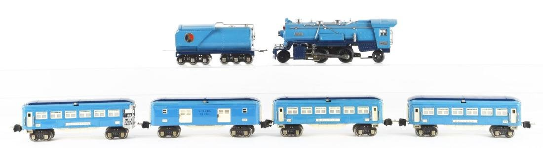 Lot of 6: Lionel Blue Comet Set with Extra Car. - 2