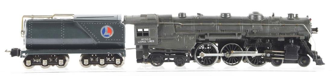 Lot Of 2: Lionel No. 763E Steam Locomotive & Oil-Type