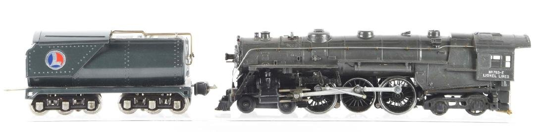 Lot Of 2: Lionel No. 763E Steam Locomotive & Oil-Type - 2