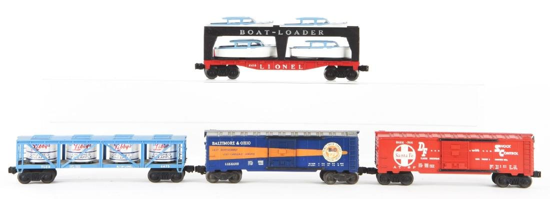 Lot of 4: Lionel 6464 Series Freight Cars. - 2