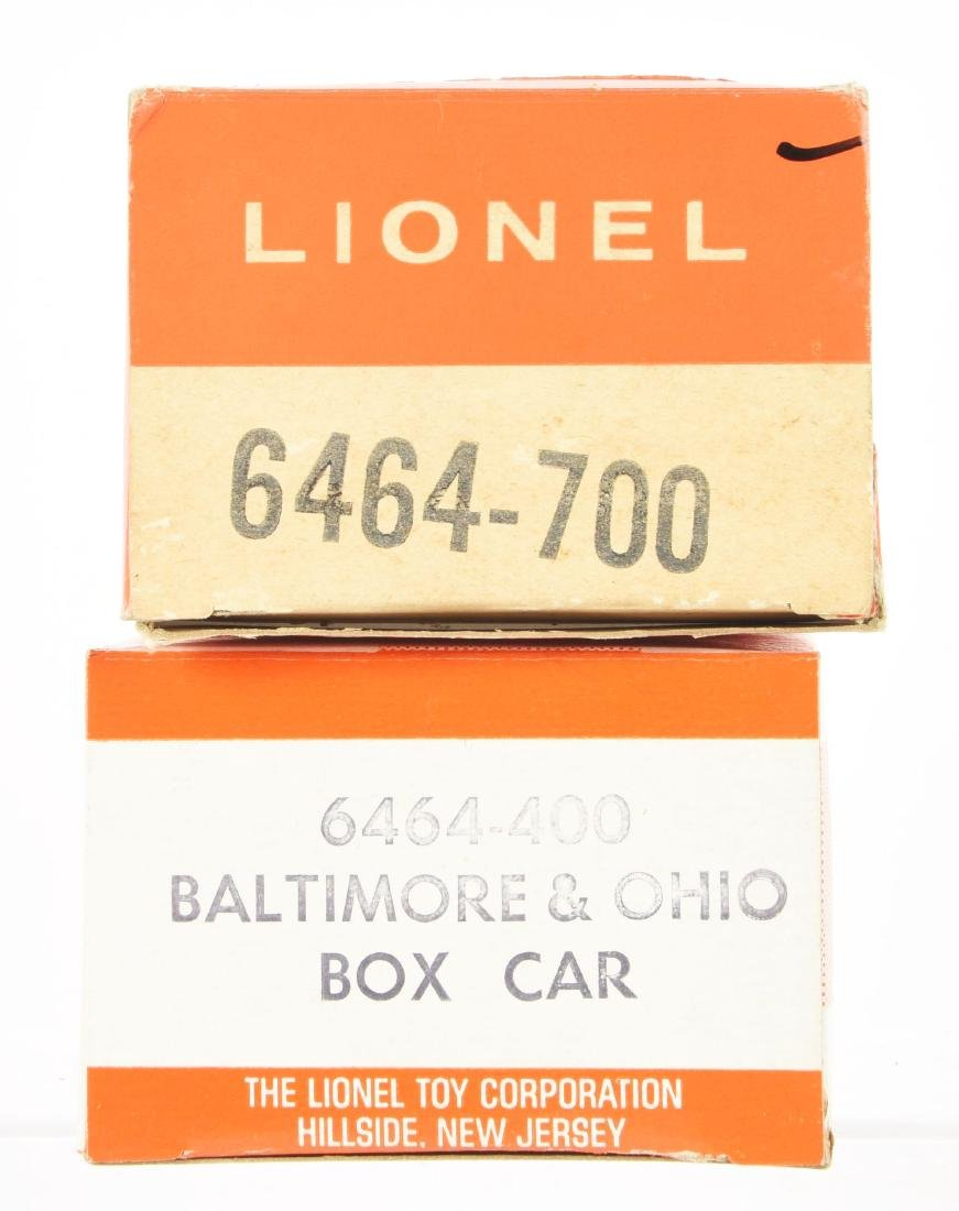 Lot of 4: Lionel 6464 Series Freight Cars. - 3