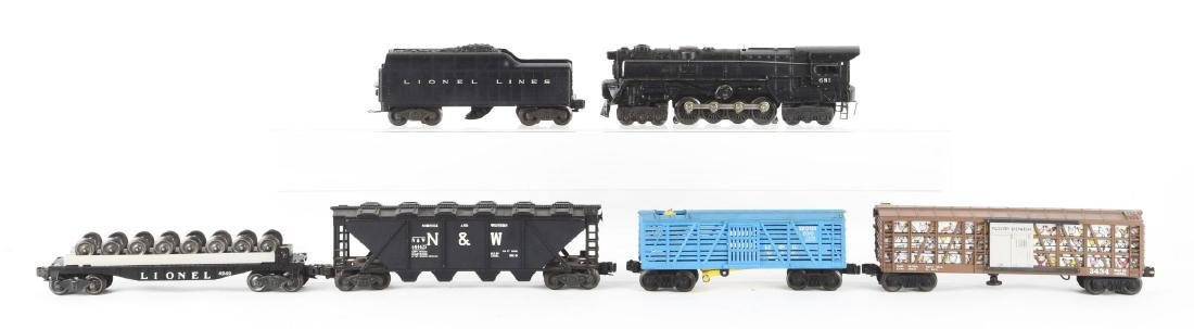 Lot Of 9: Lionel No. 681 Locomotive & Freight Cars. - 2