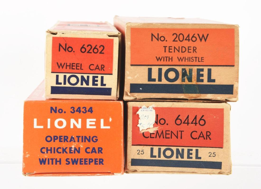 Lot Of 9: Lionel No. 681 Locomotive & Freight Cars. - 3