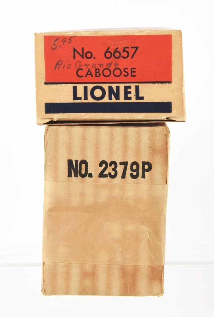 Lot of 5: Lionel No. 2379 Rio Grande AB Unit and - 3