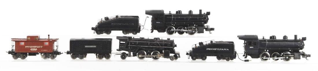 Lot of 7: Lionel No. 227 Locomotives & Tenders.