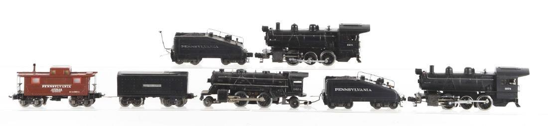 Lot of 7: Lionel No. 227 Locomotives & Tenders. - 2