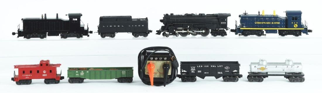 Lot Of 10: Lionel Engines and Freight Cars. - 2