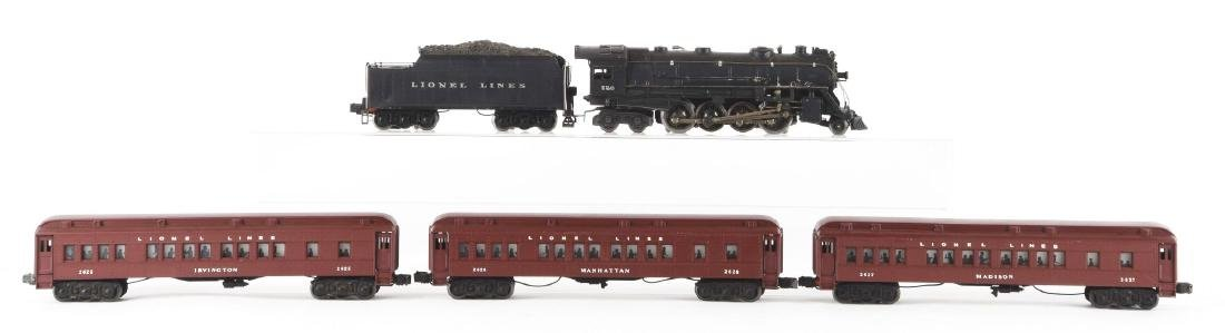 Lot of 5: Lionel No. 726 Locomotive & Tender with 3