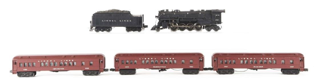 Lot of 5: Lionel No. 726 Locomotive & Tender with 3 - 2
