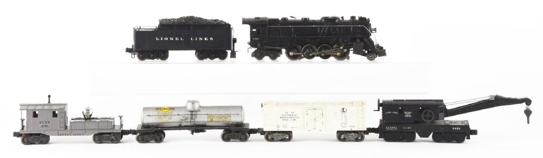 Lot of 6: Lionel No. 726 Steam Locomotive with Freight