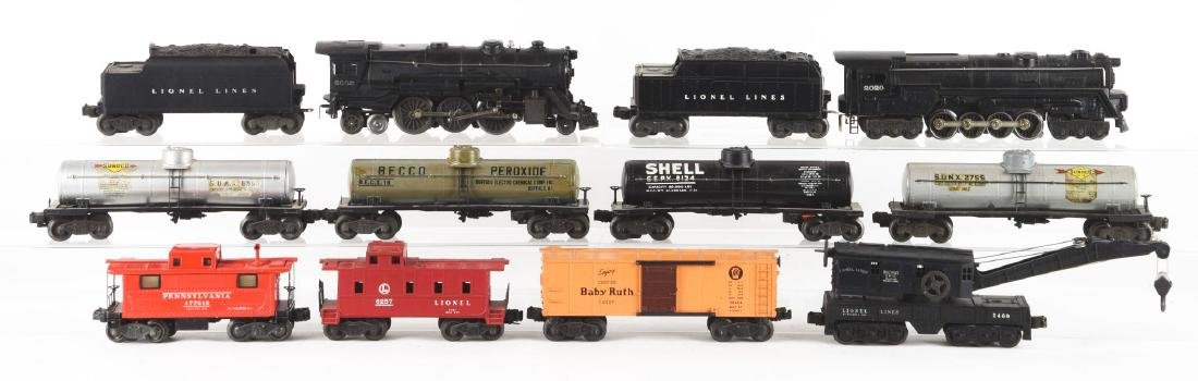Lot of 12: Lionel Nos. 2020 & 2035 Locomotives and