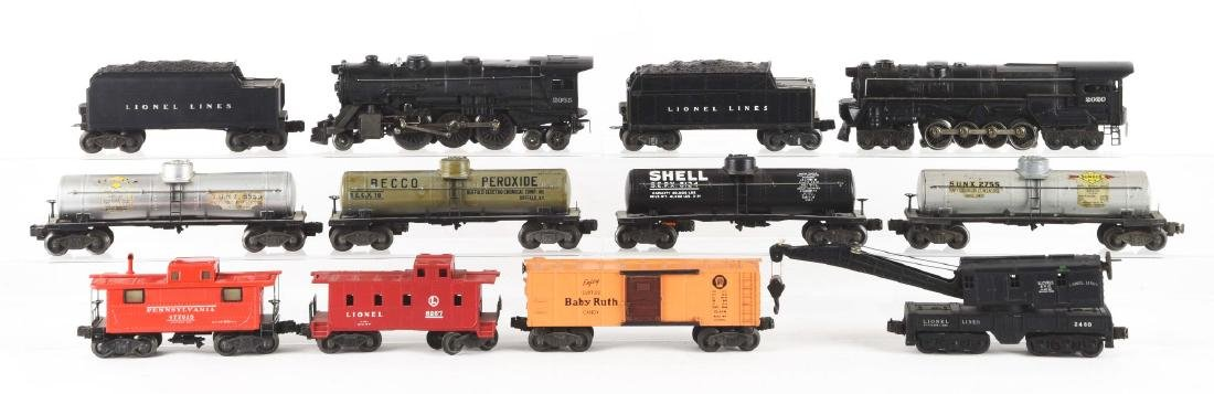Lot of 12: Lionel Nos. 2020 & 2035 Locomotives and - 2