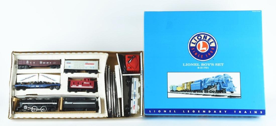 Lot Of 2: Lionel Train Sets.