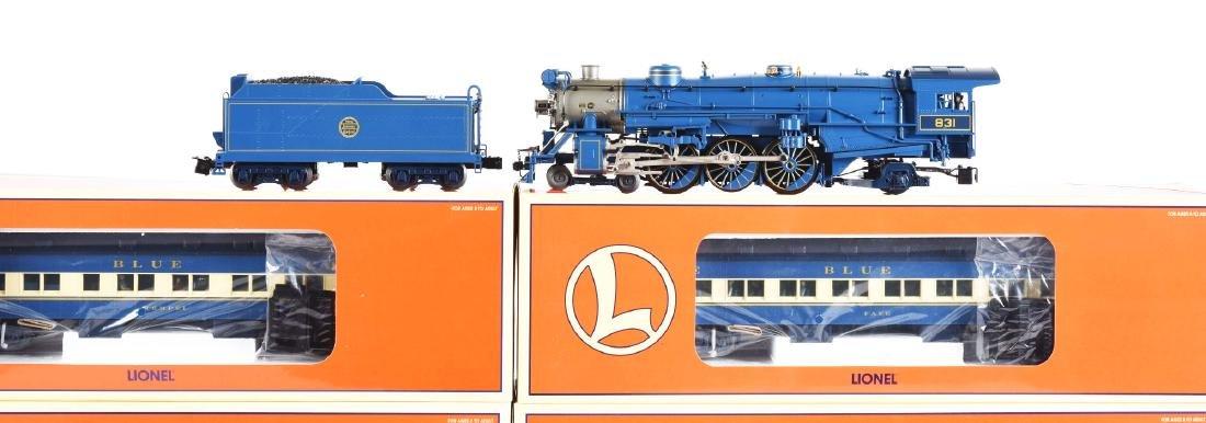 Contemporary Lionel Blue Comet Train Set in Box. - 2