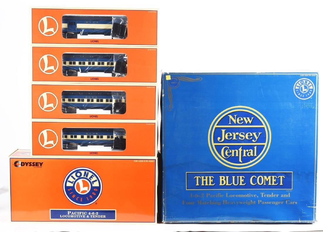 Contemporary Lionel Blue Comet Train Set in Box. - 3
