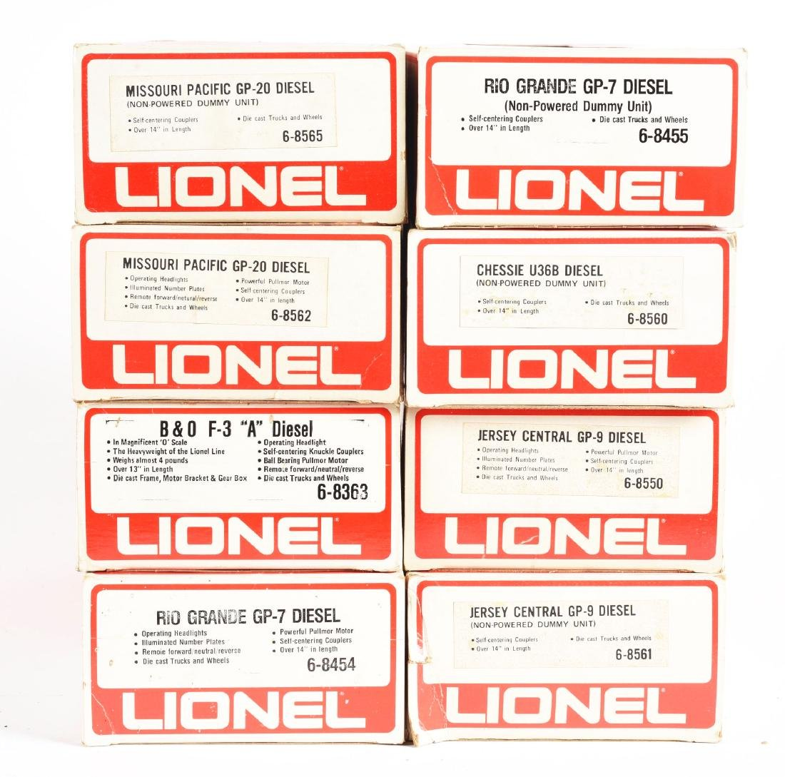 Lot Of 8: Lionel Diesels In Boxes. - 2