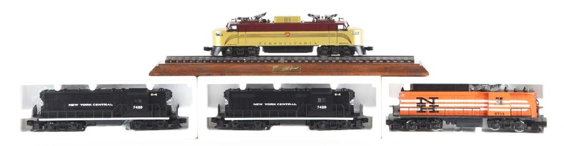 Lot Of 4: Lionel Rolling Stock.