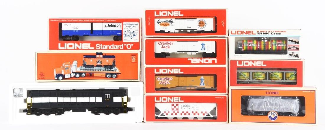 Lot Of 9: TCA Locomotive & Caboose & Assorted