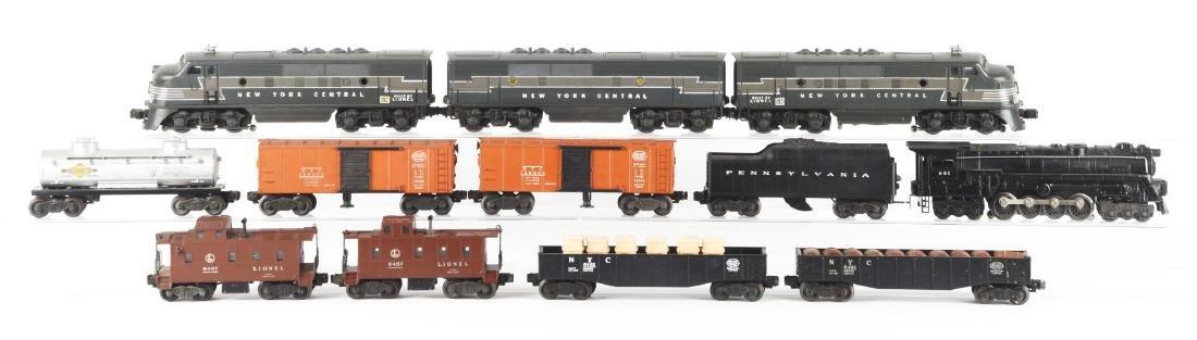 Lot of 12: Lionel F3 NYC ABA No. 681 Locomotive &