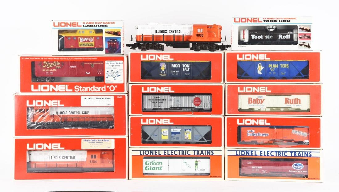 Lot Of 14: Lionel Illinois Central Diesels and