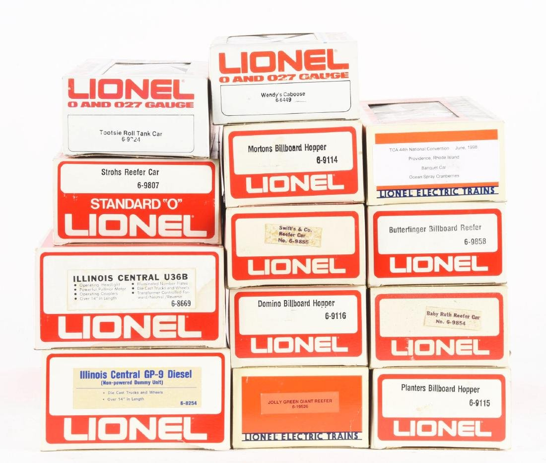 Lot Of 14: Lionel Illinois Central Diesels and - 2
