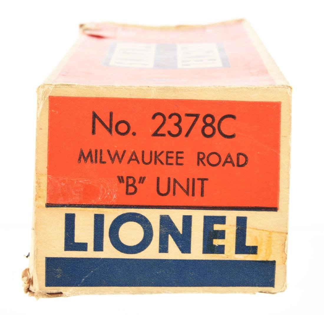 Lot of 5: Lionel No. 2378 Milwaukee Road AB Unit and - 3