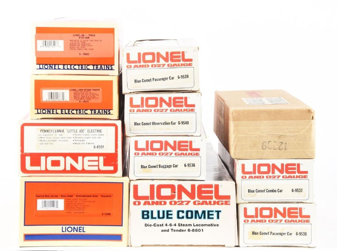 Lot Of 11: Lionel Blue Comet, Other Locomotives and - 2