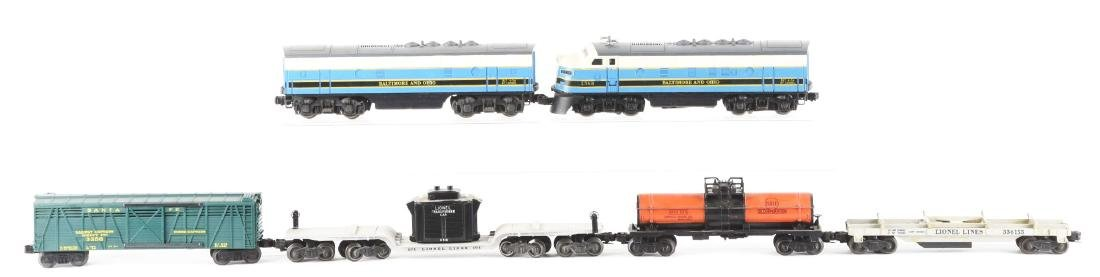 Lot of 6: Lionel No. 2368 B&O AB Units and Freight - 2