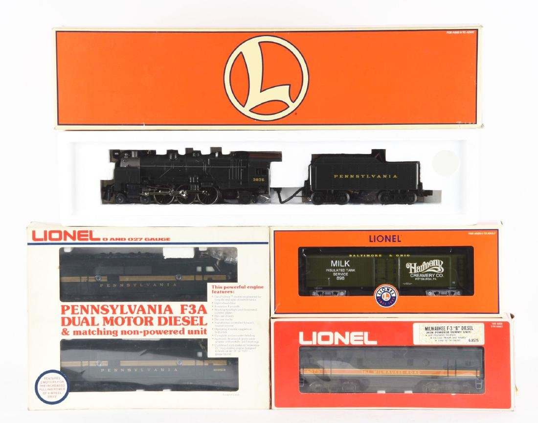Lot of 4: Lionel Diesel Trains In Boxes.