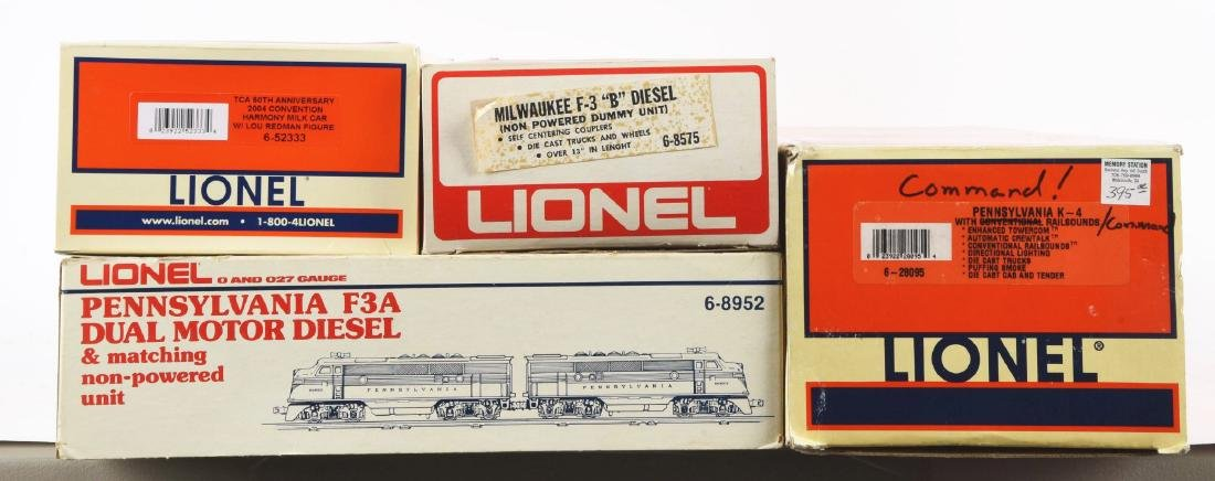Lot of 4: Lionel Diesel Trains In Boxes. - 2