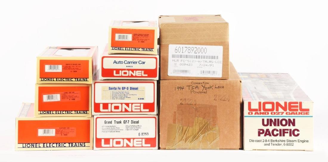 Lot of 12: Lionel Post 1970 Locomotives & Rolling Stock - 2
